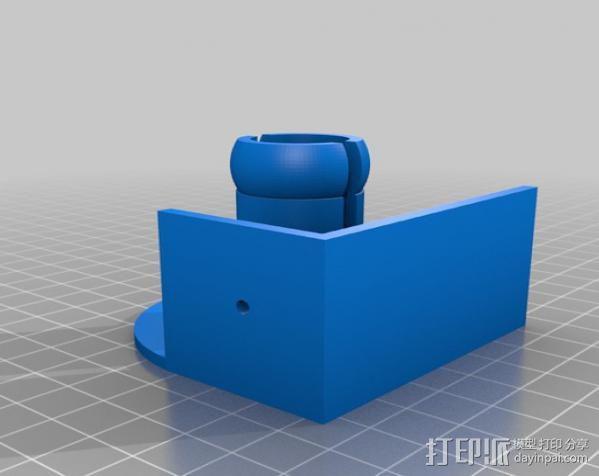 焊料卷轴架 3D模型  图2