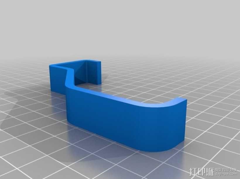 Kinect体感设备固定夹 3D模型  图5