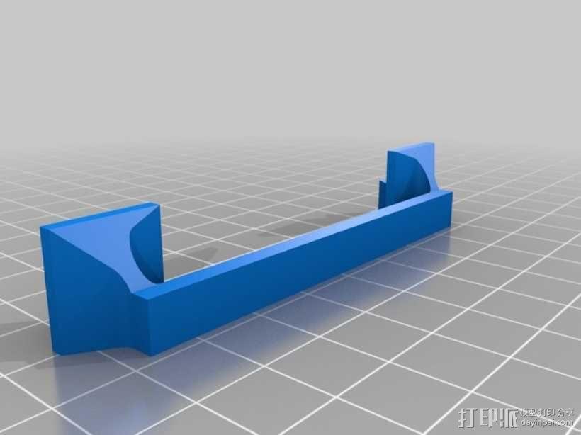Kinect体感设备固定夹 3D模型  图4