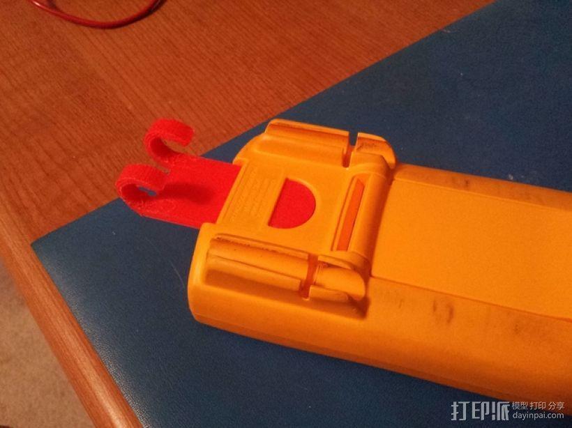 福禄克万用表 挂钩 3D模型  图3