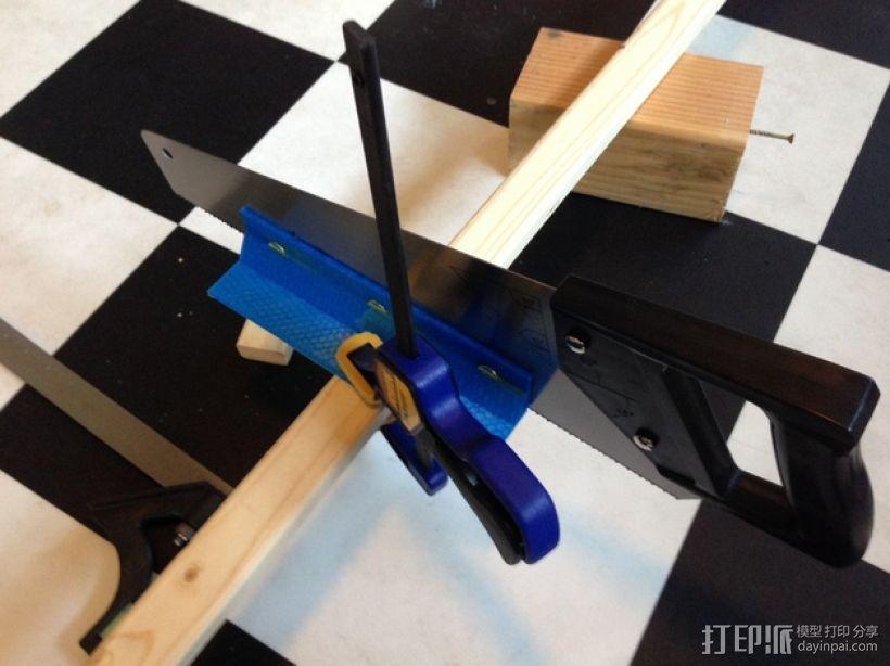 手锯 引导装置 3D模型  图1