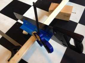 手锯 引导装置 3D模型