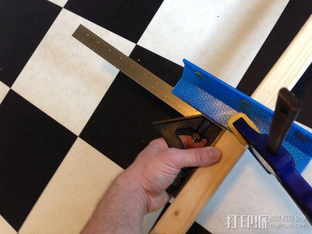 手锯 引导装置 3D模型  图2