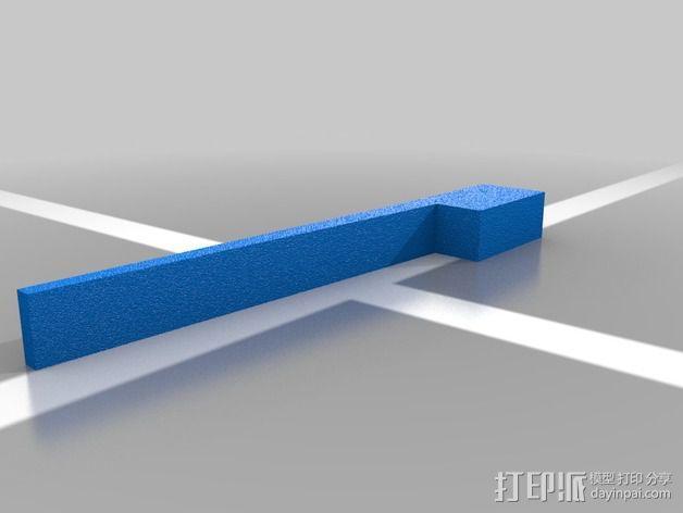 军刀 3D模型  图4