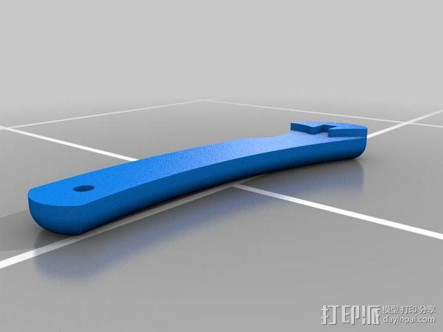 军刀 3D模型  图6