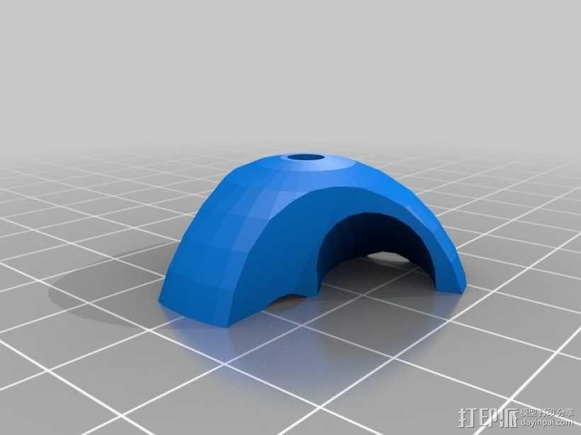 参数化管夹 3D模型  图8