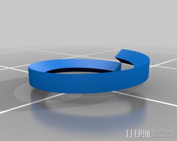 螺丝螺母 3D模型  图3