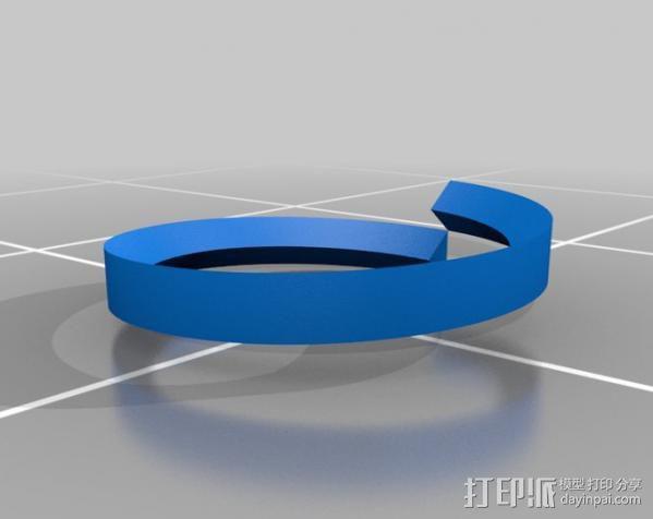 螺丝螺母 3D模型  图4