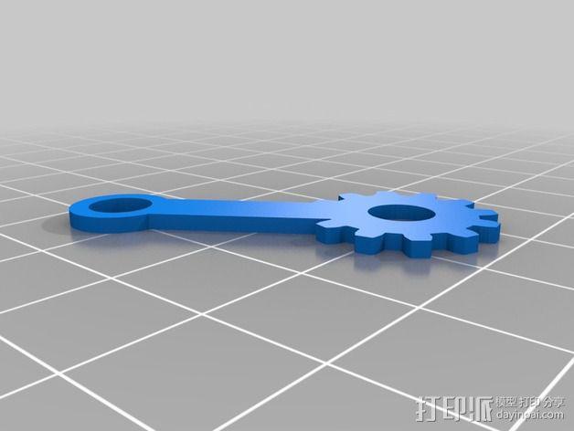 夹具/夹钳 3D模型  图2