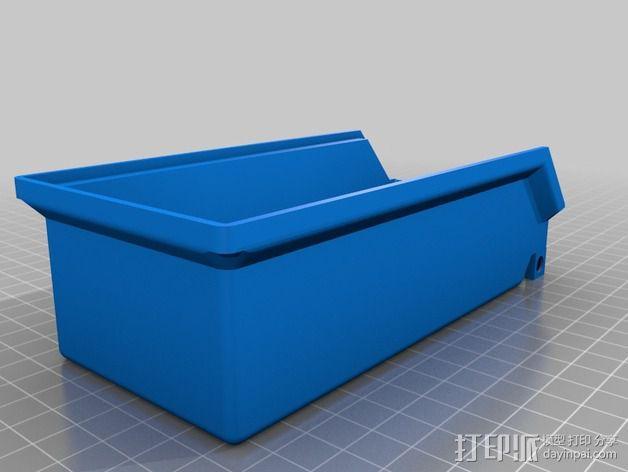 可堆叠小盒 3D模型  图2