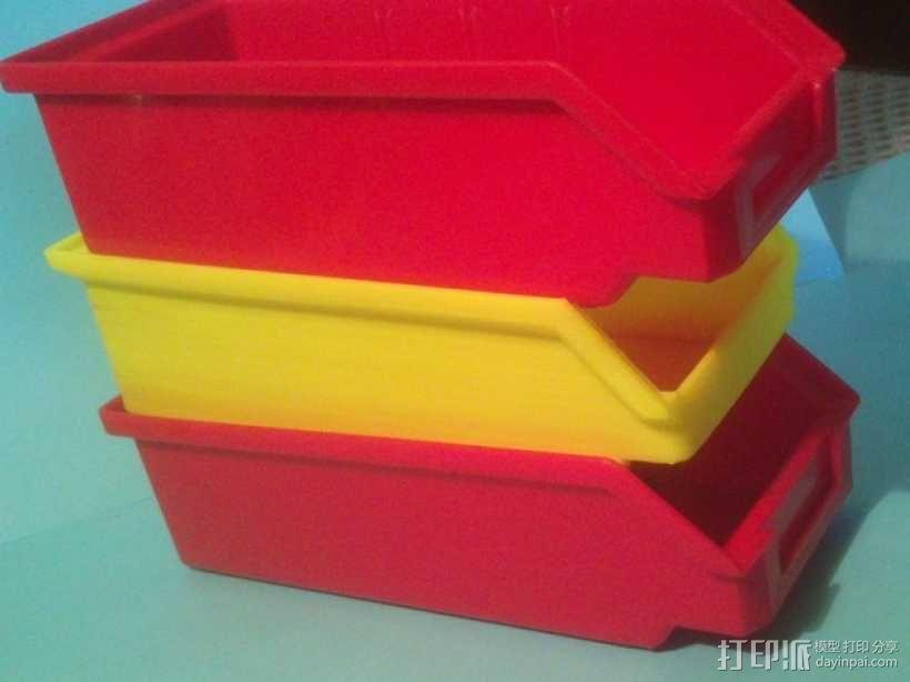可堆叠小盒 3D模型  图6