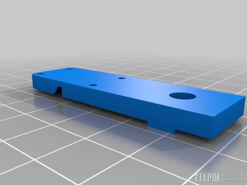 ShapeOko限位开关支架 3D模型  图3