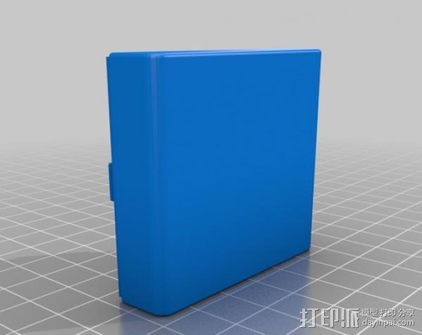 带槽口的小盒 3D模型  图6