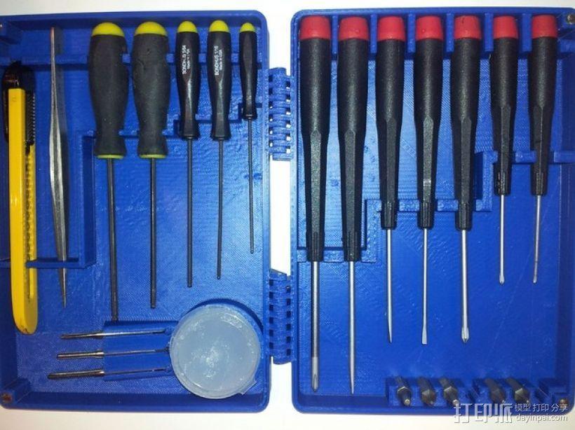 小型工具 工具盒 3D模型  图9