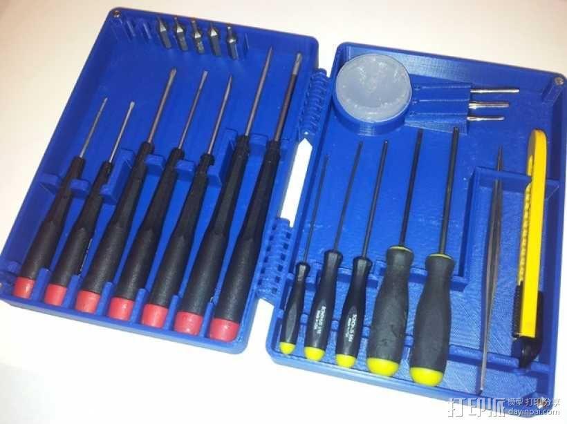 小型工具 工具盒 3D模型  图8
