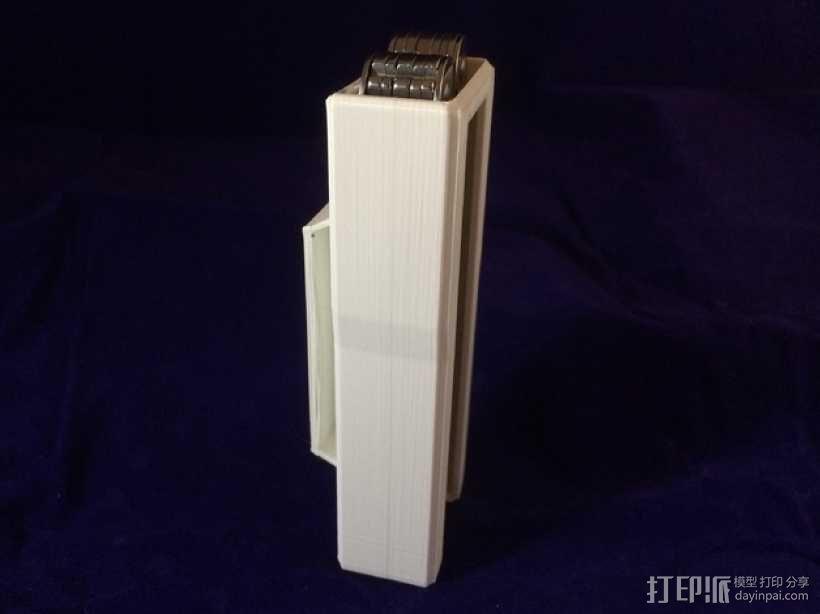 多刃刀具 保护套 3D模型  图3