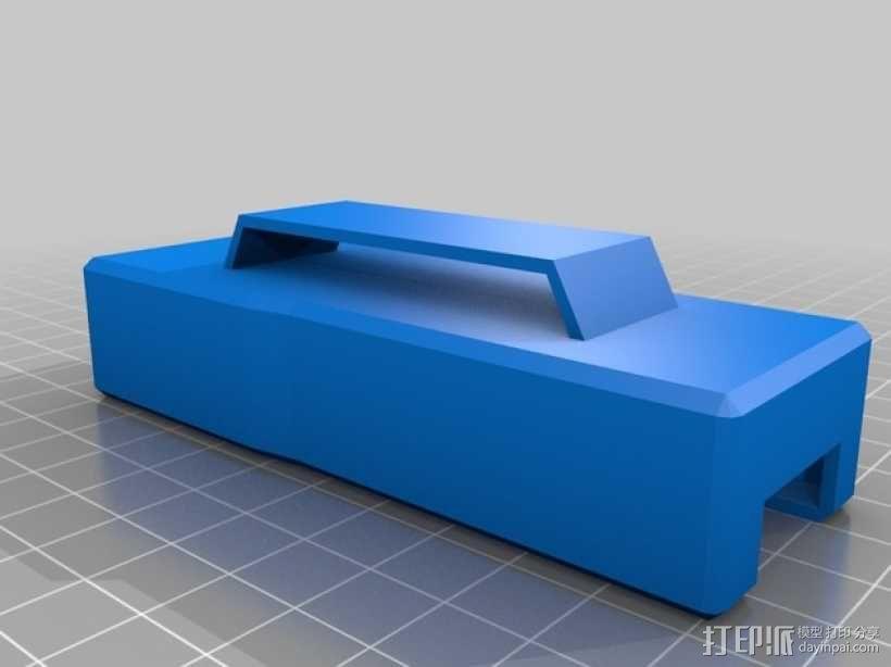 多刃刀具 保护套 3D模型  图2