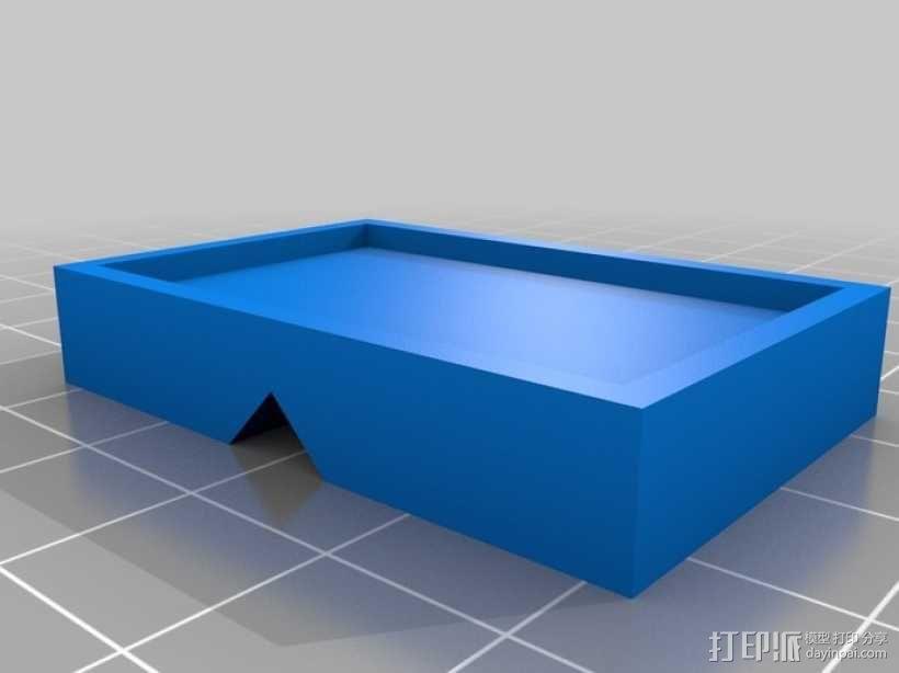 杆夹配适器 3D模型  图1