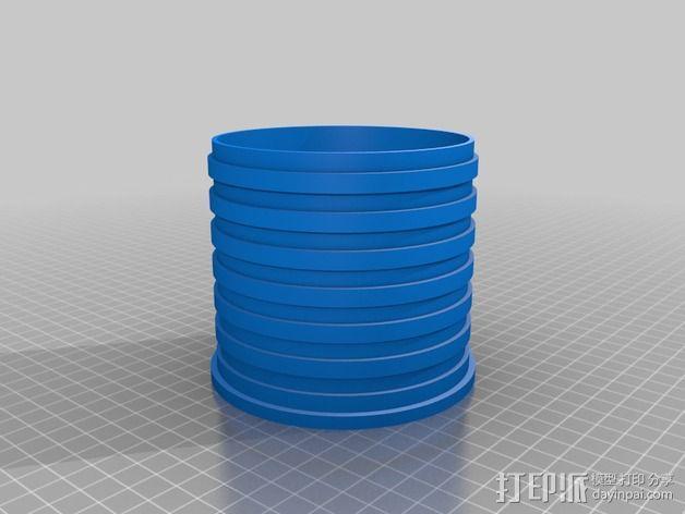 数控雕刻机 吸尘装置 3D模型  图2