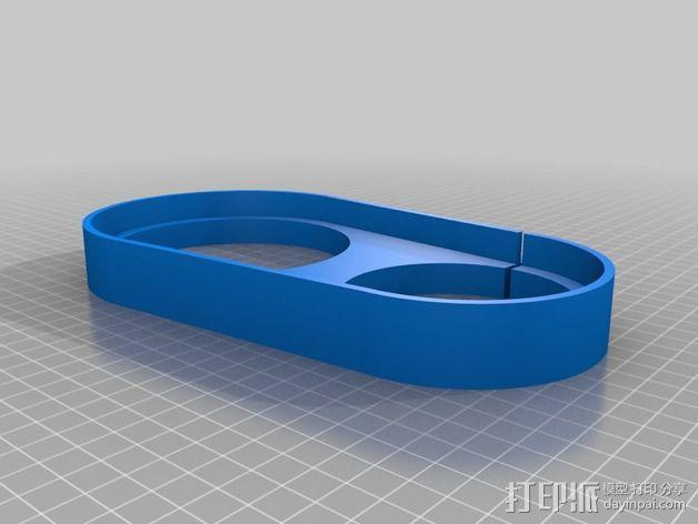 数控雕刻机 吸尘装置 3D模型  图3