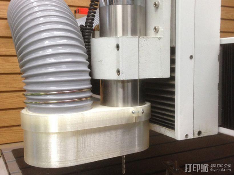 数控雕刻机 吸尘装置 3D模型  图5