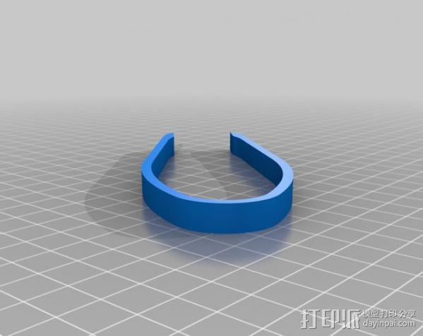 简易镊子/钳子 3D模型  图3