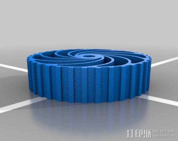 参数化车轮 3D模型  图1