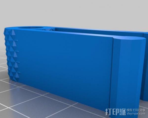作文本 笔夹 3D模型  图1