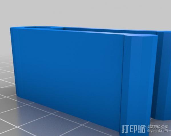 作文本 笔夹 3D模型  图3