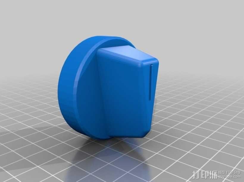 旋转开关 3D模型  图2
