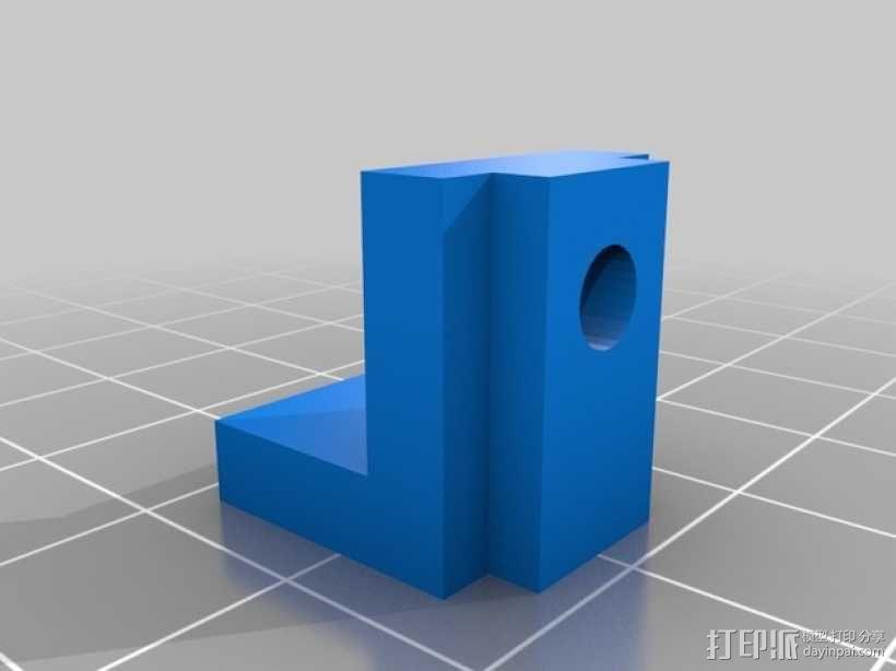 dremel钻床 防松螺帽 3D模型  图2