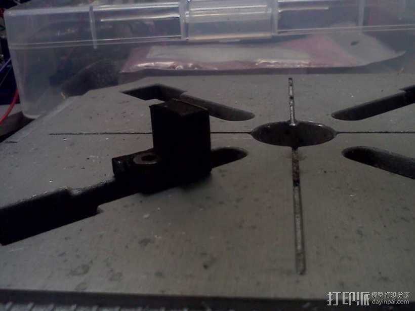 dremel钻床 防松螺帽 3D模型  图6