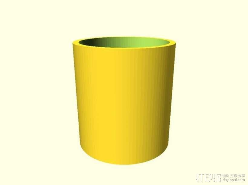 定制化管帽  3D模型  图1