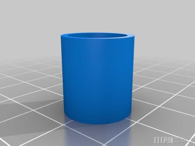 定制化管帽  3D模型  图2