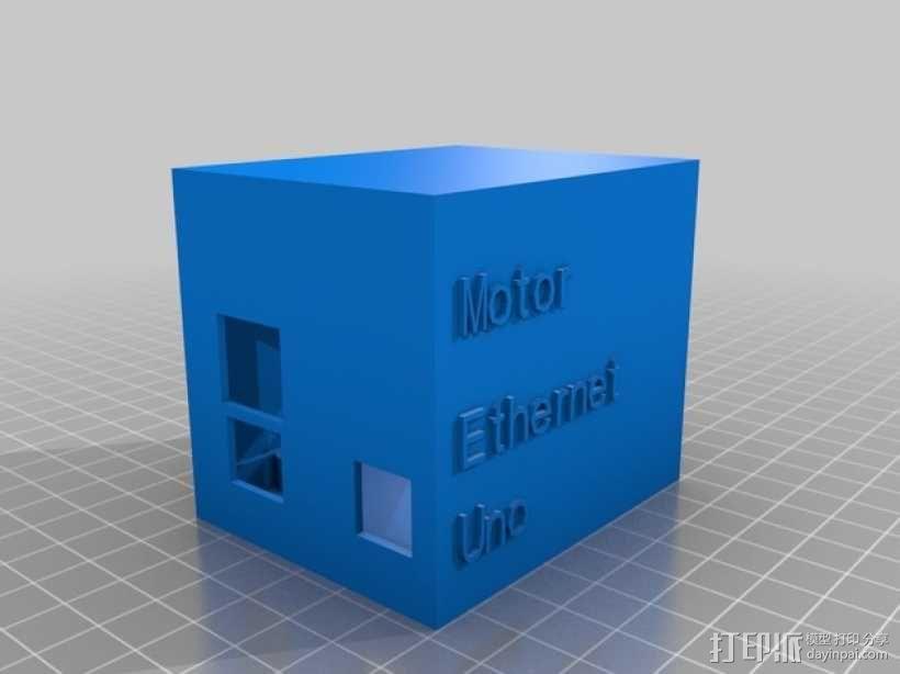 arduino电路板外壳  3D模型  图4