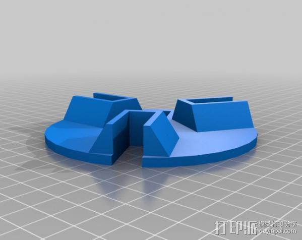 火箭 夹具 3D模型  图1