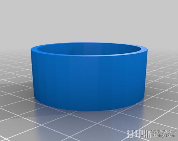 火箭 夹具 3D模型  图3