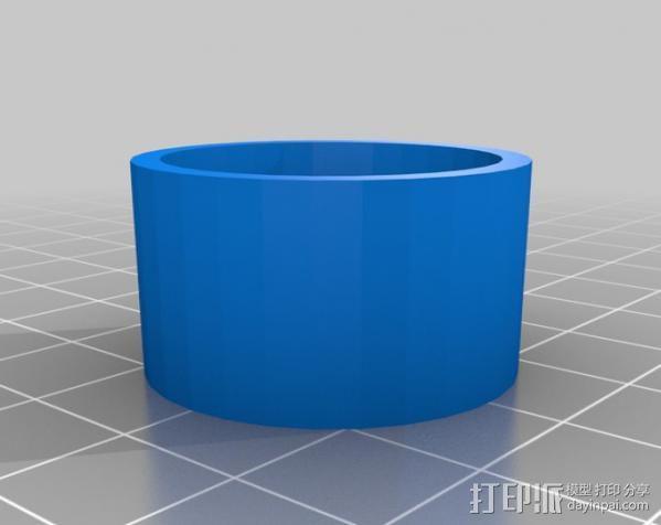 火箭 夹具 3D模型  图2