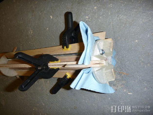 火箭 夹具 3D模型  图5