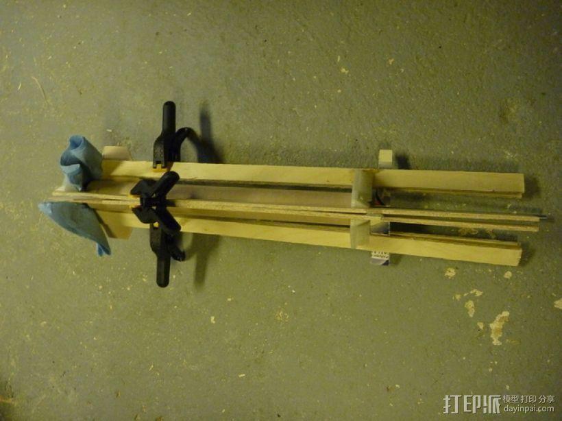 火箭 夹具 3D模型  图4