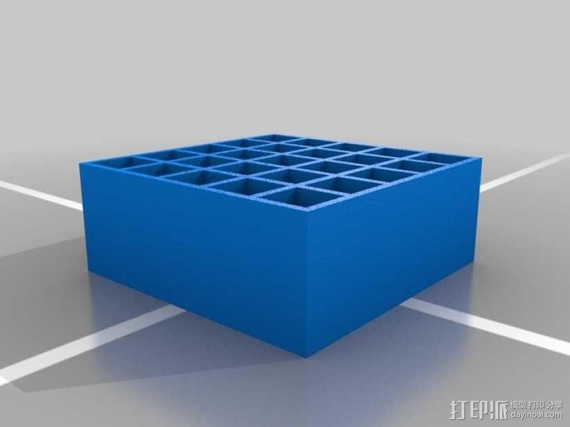 可堆叠弹药箱 3D模型  图1