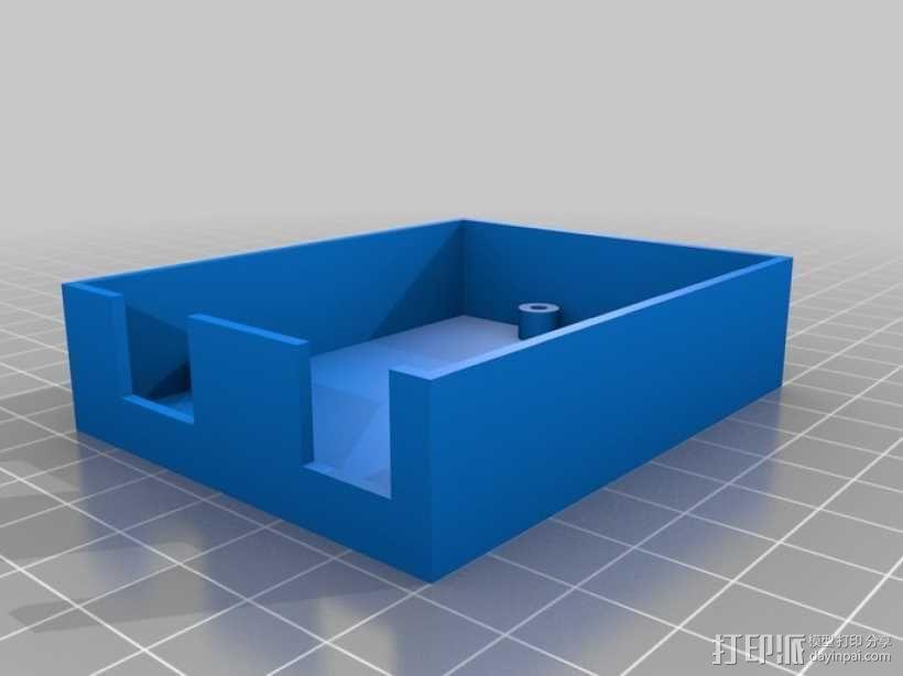 定制化Arduino电路板底座 3D模型  图2