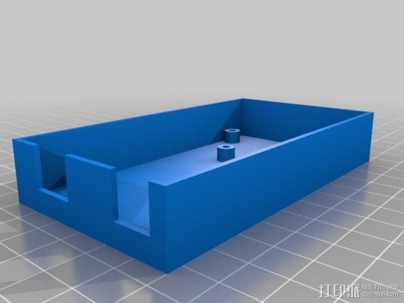 定制化Arduino电路板底座 3D模型  图3