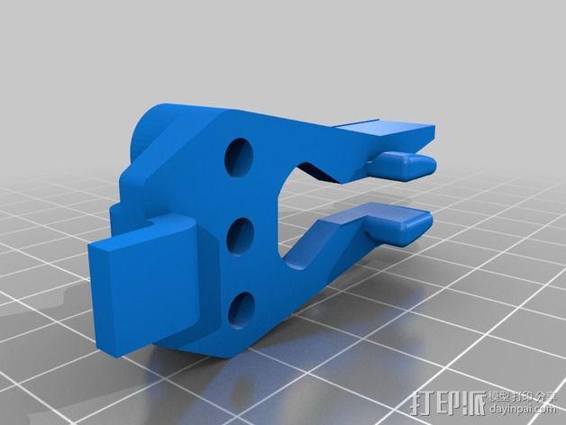 Raaco工具架 3D模型  图2