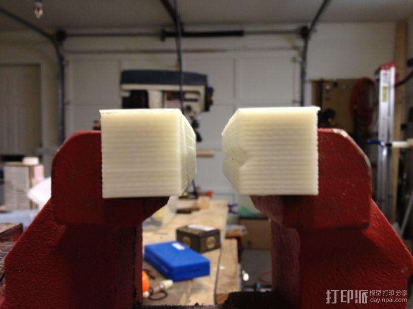 台钳 卡爪 3D模型  图4