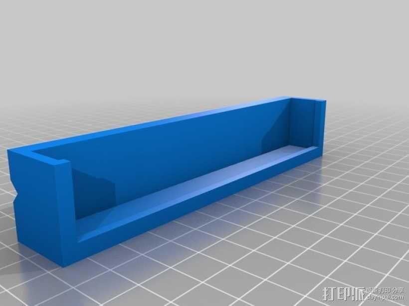 台钳 卡爪 3D模型  图3