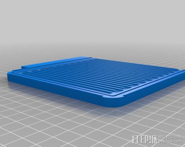 CNC设备 真空吸附平台  3D模型  图1