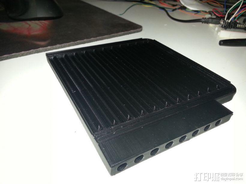 CNC设备 真空吸附平台  3D模型  图4