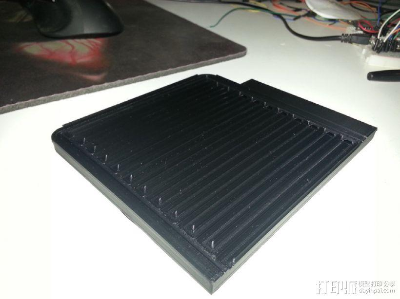 CNC设备 真空吸附平台  3D模型  图3
