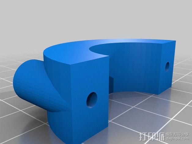 木质浮雕图片 3D模型  图3